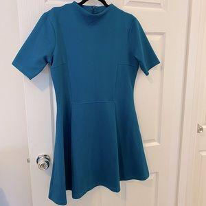 ✨Host Pick✨ ASOS Teal Blue Up Tight Loose Bottom Top Dress